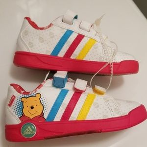 Adidas Disney Pooh Bear Ortholite Sneakers 8K